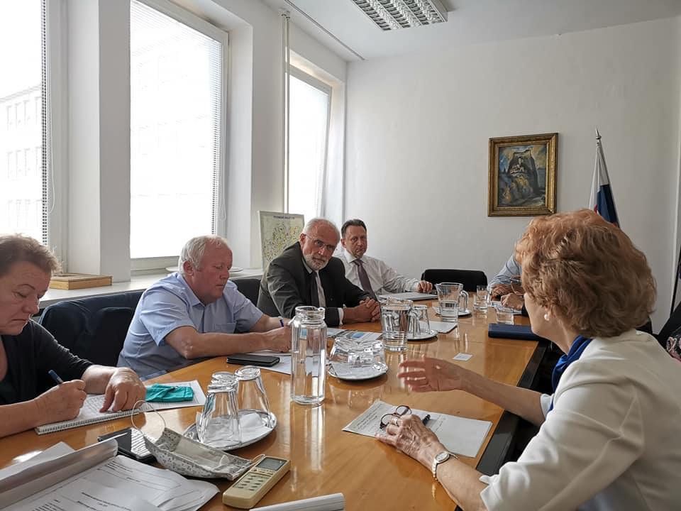 Foto zo stretnutia s ministrom